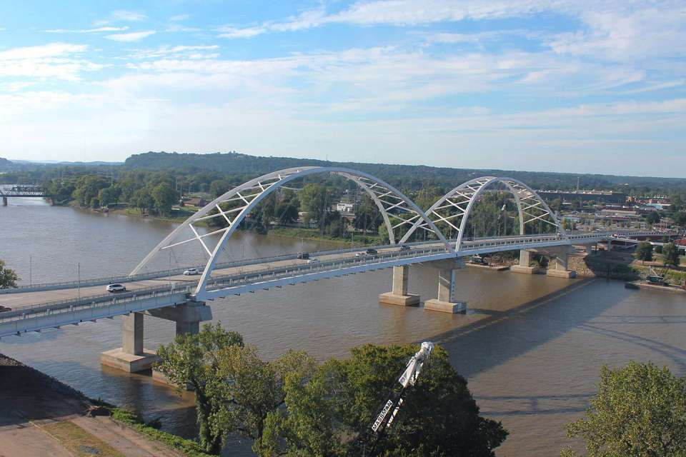 Broadway Bridge Over The Arkansas River 1