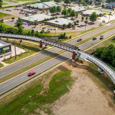 Dave Ward Drive Pedestrian Overpass
