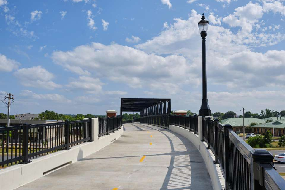 City Of Conway Dave Ward Drive Pedestrian Overpass 7