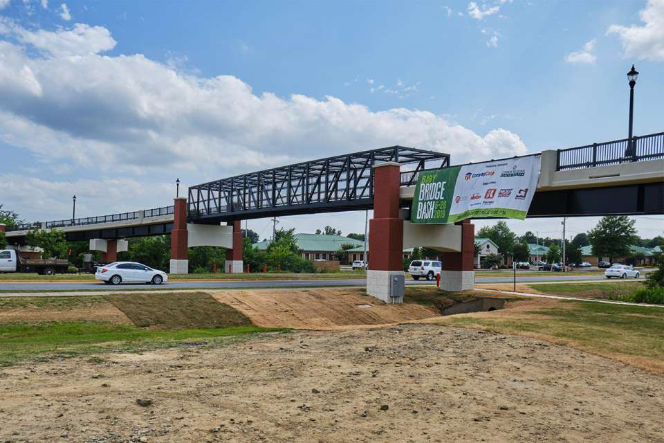 City Of Conway Dave Ward Drive Pedestrian Overpass 9