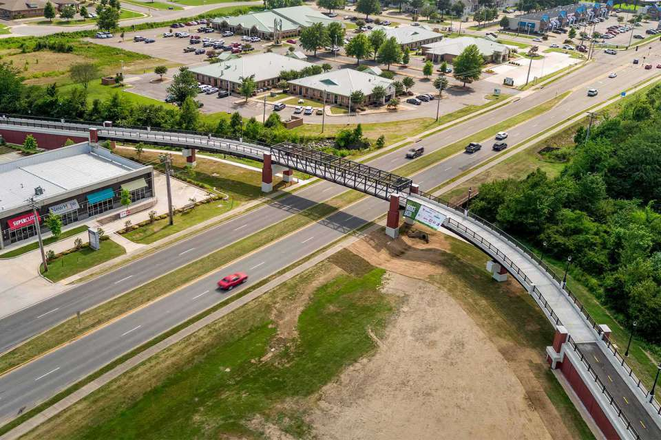 City Of Conway Dave Ward Drive Pedestrian Overpass Cover