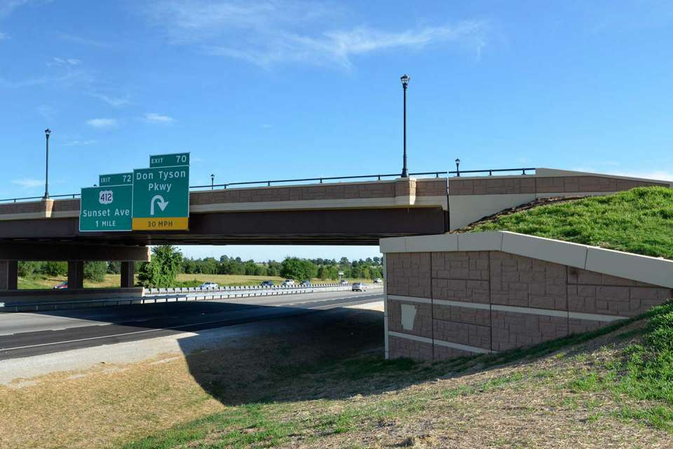 Don Tyson Parkway Interchange
