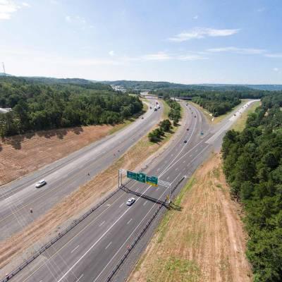 I-40 at I-430 Interchange