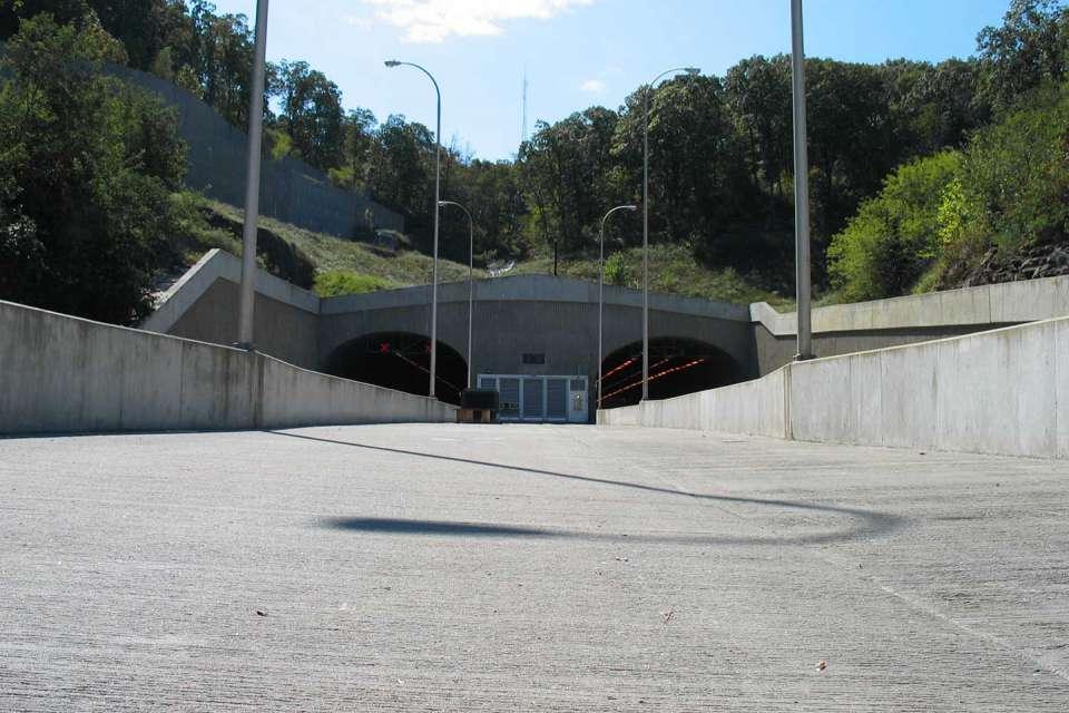 Interstate 540 & Bobby Hopper Tunnel