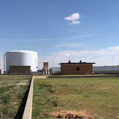 Lubbock North WTP Ground Storage Tank