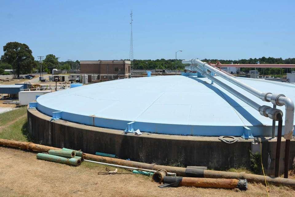 Grace Creek WWTP, Longview, Texas