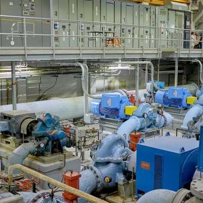 CAW Pump Station 1A Improvements