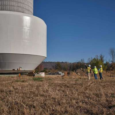 Russellville City Corporation Industrial Area Tank
